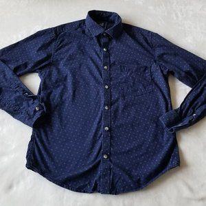 """Peter England Casuals Slim 38 Cm (US 15"""") Collar"""